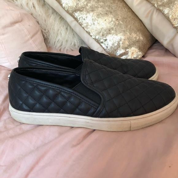 812d4128101 Black Steve Madden Ecentrcq Slip On Shoe. M 5b1065b09a9455a28f5524bf